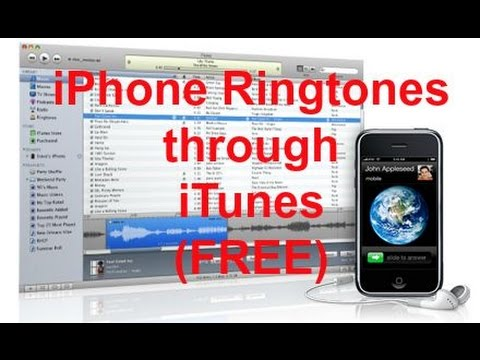 Transfer Ringtones To Your Iphone Through Itunes Using Mac Or Pc video