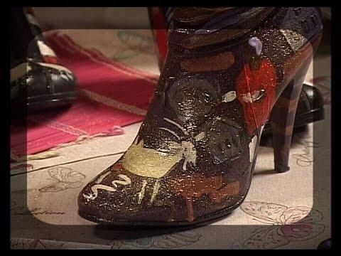 Декупаж обуви мастер класс все буде добре