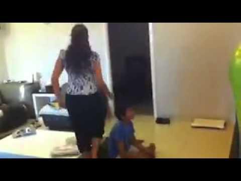 Harlem Shake Mom And Son video