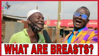 WHAT ARE BREASTS? /Teacher Mpamire on the Street/Latest African Comedy 2020