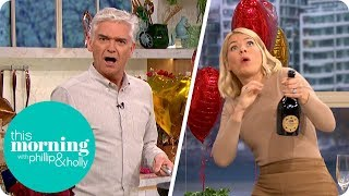 Gino Calls in Sick so Phillip & Holly Take Charge of the Cooking | This Morning