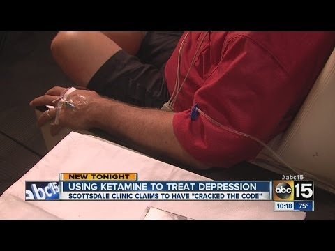 Using Ketamine to treat depression