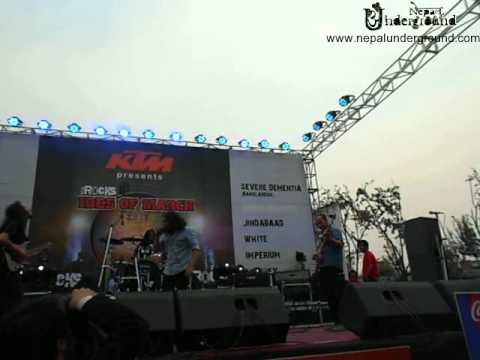 White Band Nepal- Mar Roye Ma Hase Live At Ktmrocks Ides Of March 2012 video