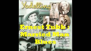 Watch Ernest Tubb Married Man Blues video