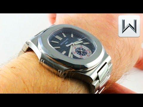 Patek Philippe Nautilus Chronograph 5980/1A-001 Luxury Watch Review