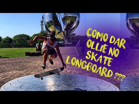 Escola de Slide - Como dar Ollie no Longboard - Aula 24