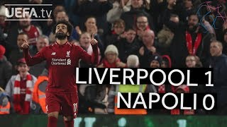 LIVERPOOL 1-0 NAPOLI UCL HIGHLIGHTS