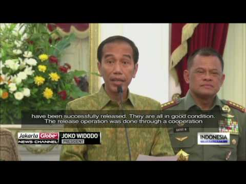 4 Indonesian Hostages Released