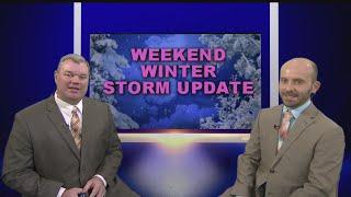 Winter Storm Update - Looking deeper into Weekend Storm