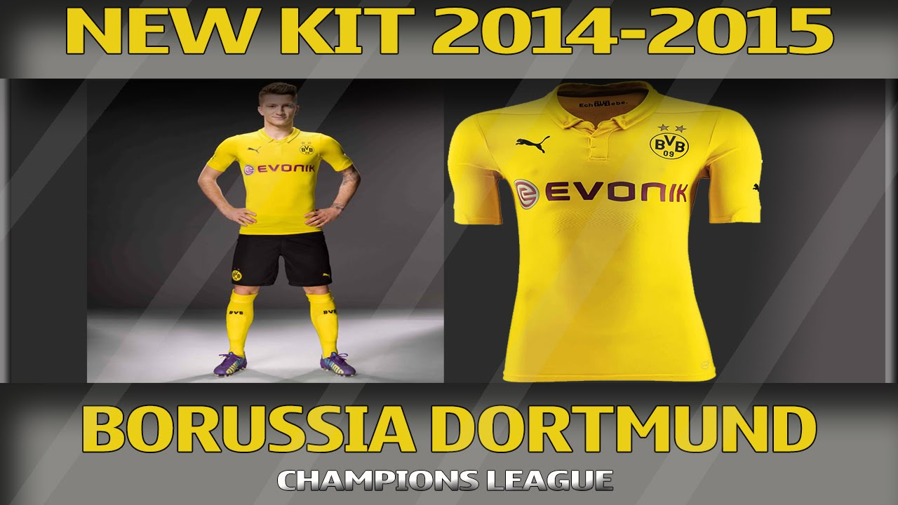 Bvb Champions Home Kit Bvb Champions League