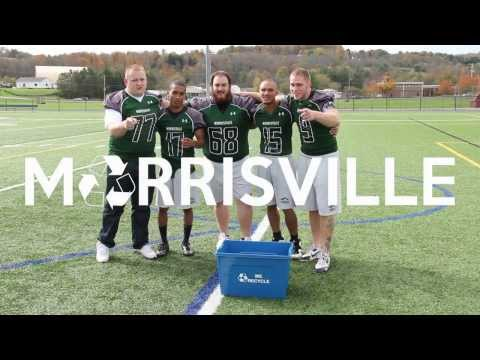 Morrisville State College Football Recycles
