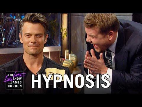 Download Hypnotizing Josh Duhamel & The Late Late Show Audience Mp4 baru