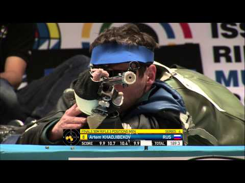 50m Men's Rifle 3 Positions final - Munich 2013 ISSF World Cup