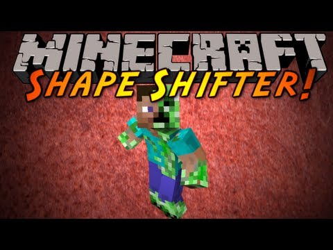 Minecraft Mod Showcase : Shape Shifter! video