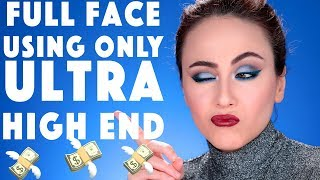 Full Face Using Only YSL Beauty 💋 | 🤑 Full Face using Only High End Makeup | Hatice Schmidt