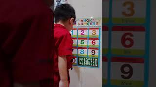 Belajar mengenal angka bahasa inggris part 1