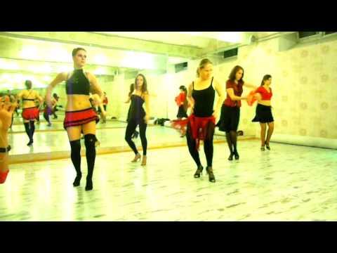 Strip-latina - Amor Gitano by Beyonce&Alejandro Fernandez, choreo by Jane Kornienko, group