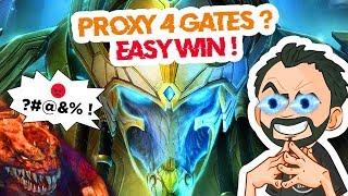 StarCraft 2 - PvZ - Proxy 4 Gates ! VICTOIRE en moins de 5 minutes ! 😎