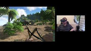 Homido Vr headset review - ARK survival evolved - trinus vr
