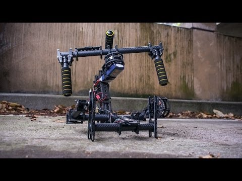 3 axis gimbal video performance movi like. hifly. besteady. nikon d800