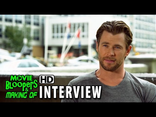 Avengers: Age of Ultron (2015) BTS Movie Interview - Chris Hemsworth (Thor)