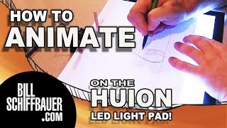 🔴 HOW I ANIMATE - Animation Tutorial using the Huion LED Light pad
