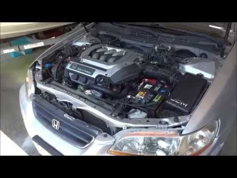 how to replace a radiator on a 1998 2002 honda accord v6