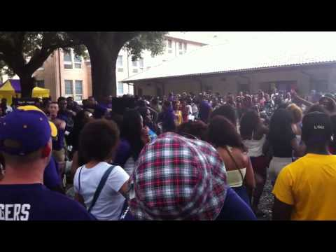 LSU fraternity dance