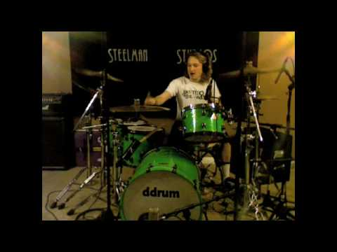 Marilyn Manson - The Beautiful People DRUM COVER *GREAT AUDIO* Music Videos