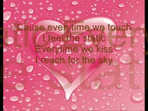 Cascada - Everytime We Touch Lyrics video