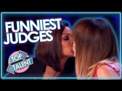 FUNNIEST Judge Moments on Britain's Got Talent! | Top Talent