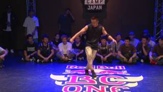 Taisuke(JPN) Judge Move | B-BOY CREW BATTLE 2017.07.01 | Red Bull BC One Camp Japan 2017