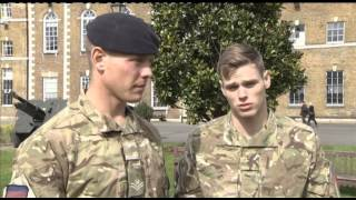 Military Honours: Soldier's Bravery Saves Friend 21.03.14