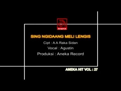 Agustin - Sing Ngidang Meli Lengis [official Video] video