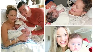 MY LABOR & DELIVERY STORY + Meet Colton! ♡ || BentleyBlonde