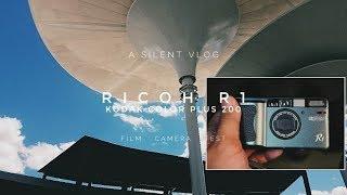 Best Automatic Film Camera? Ricoh R1  Kodak Color Plus 200 Film   Camera Test   Silent Vlog