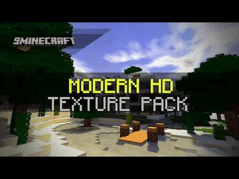 Modern HD Texture Pack for Minecraft 1.6.2/1.6.1/1.5.2