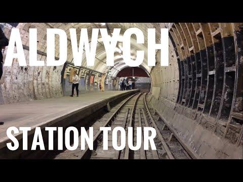 Aldwych Underground Station Tour