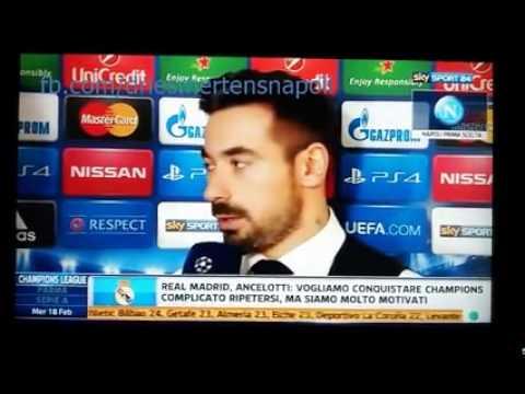 Intervista a Lavezzi sul Napoli - 17 febbraio 2015 - Sky Sport