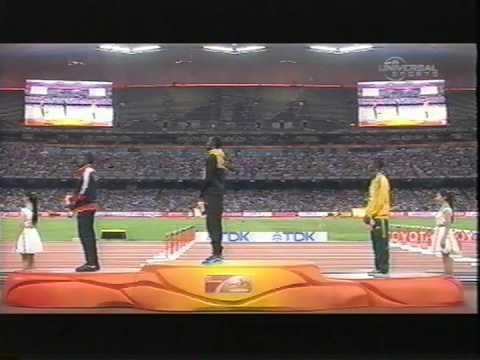 Jamaica Track-  IAAF World Athletics Championships in Beijing 2015