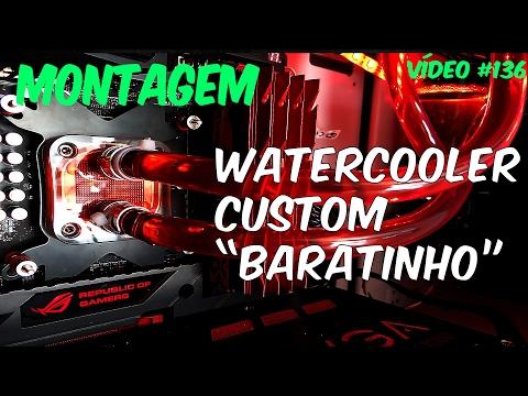 Montando Watercooler Custom