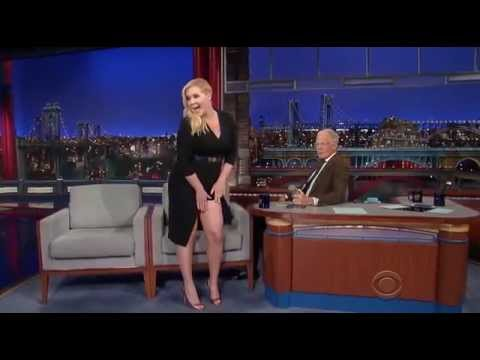 Amy Schumer on David Letterman