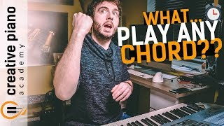 Piano Chords - How To Play ANY Major Or Minor Chord On The Piano | In 60 Seconds