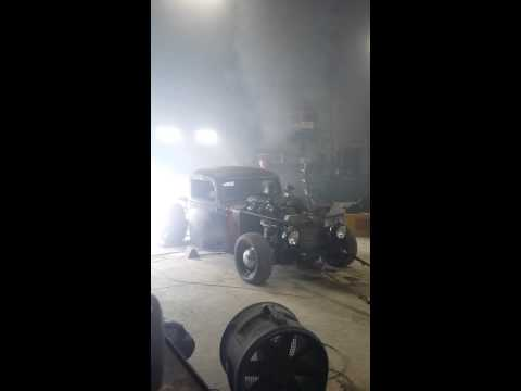 Twin Turbo 4bt Cummins Rat Rod