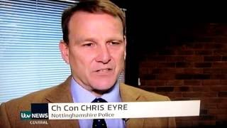 NOTTINGHAM POLICE CHIEF CONSTABLE PRESSURED INTO SEARCHING FOR CHILD RAPISTS