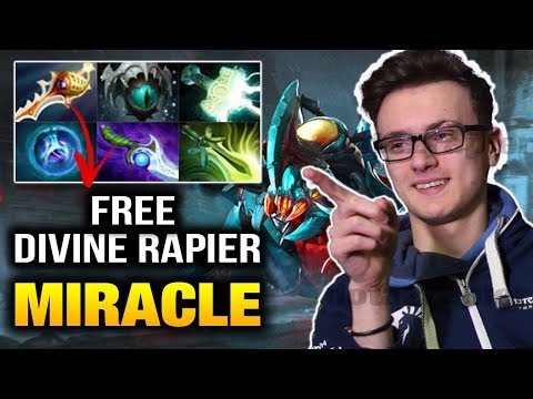 Miracle Weaver VS Mage - Rapier Can't Help Your Team - Dota 2