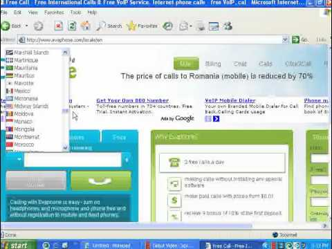 How to make free calls from PC to mobile anywhere without any software