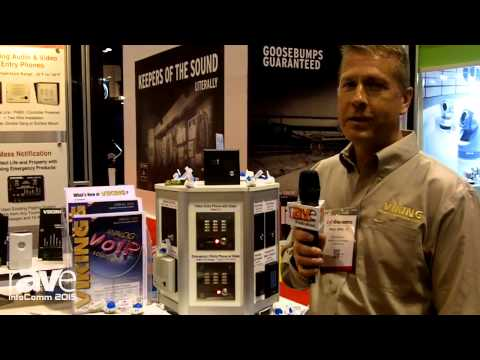 InfoComm 2015: Viking Shows the Telecom Based Analog Products and Discusses Migration to IP