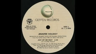 Jennifer Holliday - Just Let Me Wait