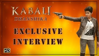 I am a Gangster | Kabali Tamil Movie | Dhansika Exclusive Interview | Rajinikanth | V Creations